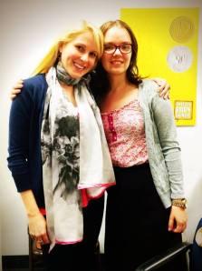 Edith with her fabulous editor Susan Dobinick