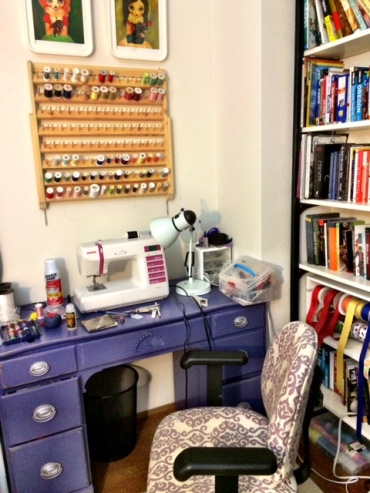 Edith's Sewing Space