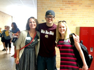 Tracy Holczer, Nerd Camp creator Colby Sharp and me!